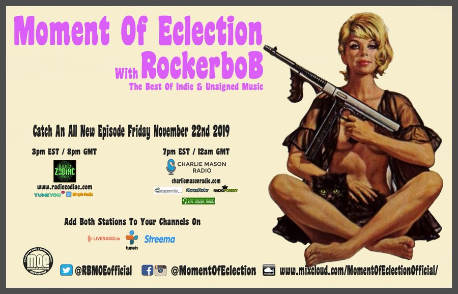 We're added to Moment of Eclection with RockerBob