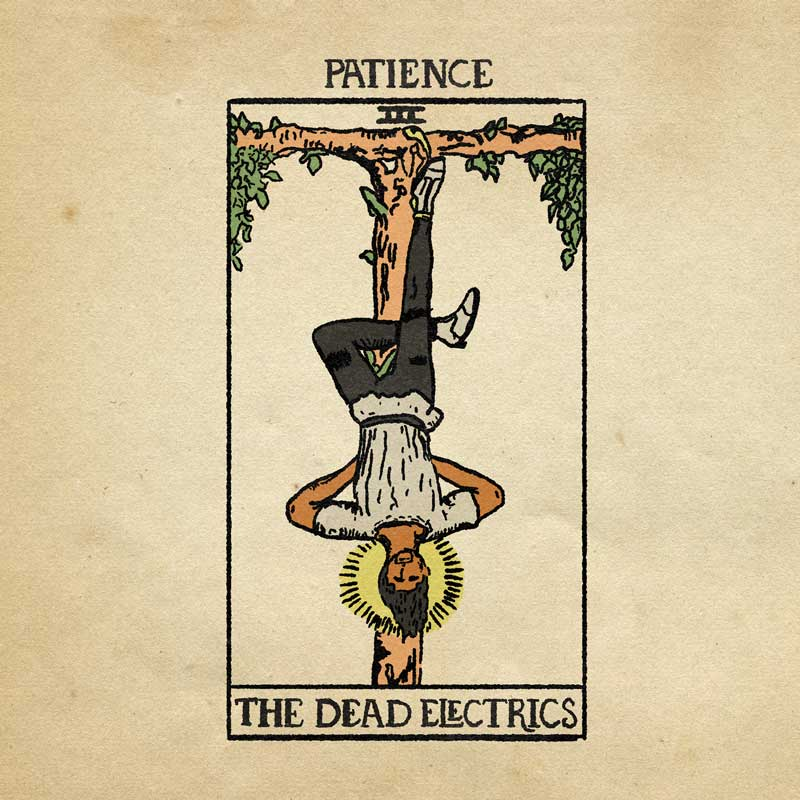 The Dead Electrics - Patience EP Artwork